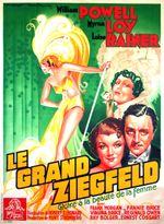 Affiche Le Grand Ziegfeld