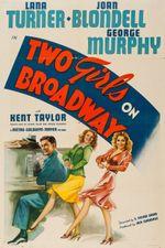 Affiche Deux jeunes filles à Broadway
