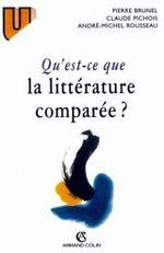 Couverture Qu'est-ce que la littérature comparée ?