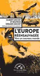 Couverture L'Europe réensauvagée