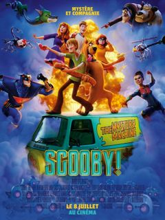 Affiche Scooby !