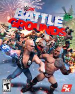 Jaquette WWE 2K Battlegrounds