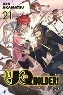Couverture UQ Holder!, tome 21