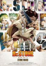 Affiche Dr. Stone: Stone Wars