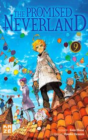 Couverture The Promised Neverland, tome 9