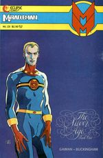 Couverture Miracleman: The Silver Age