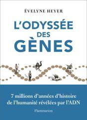 Couverture L'Odyssée des gènes