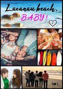 Couverture Lacanau Beach Baby !, tome 1 : L'Été de leurs 25 Ans