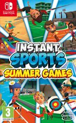 Jaquette Instant Sports Summer Games