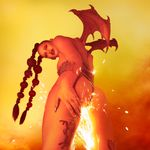 Pochette Phoenix: Flames Are Dew Upon My Skin
