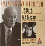 Pochette Concertos BWV 1054 & 1058, Piano Concerto No.25, K.503