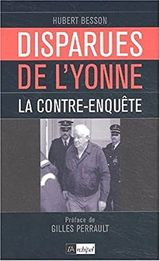 Couverture Les Disparues de l'Yonne