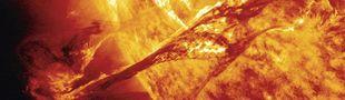Affiche Tempêtes solaires - Une mystérieuse menace