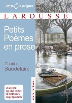 Couverture Petits poèmes en prose