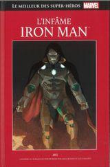 Couverture L'Infâme Iron Man - Le Meilleur des super-héros Marvel, tome 117