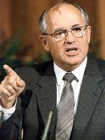 Photo Mikhail Gorbachev