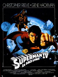 Affiche Superman IV - Le Face à face