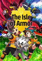 Jaquette Pokémon : L'île solitaire de l'Armure