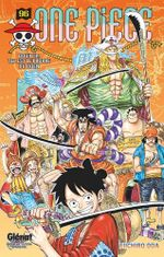 Couverture Bouillir, tel est le propre du Oden - One Piece, tome 96