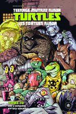 Couverture De l'ordre et du chaos - Les Tortues Ninjas, tome 10