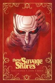 Couverture These Savage Shores