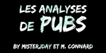 Affiche Les analyses de pubs