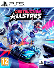 Jaquette Destruction Allstars