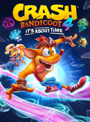 Jaquette Crash Bandicoot 4 : It's About Time