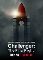 Affiche Le dernier vol de la navette Challenger