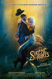 Affiche Une Sirène à Paris