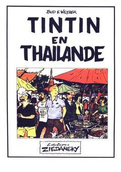 Couverture Tintin en Thaïlande
