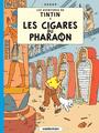 Couverture Les Cigares du pharaon - Les Aventures de Tintin, tome 4