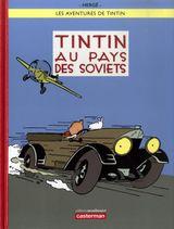 Couverture Tintin au pays des Soviets - Les Aventures de Tintin, tome 1 (nouvelle version couleurs)