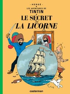 Couverture Le Secret de la Licorne - Les Aventures de Tintin, tome 11