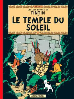 Couverture Le Temple du Soleil - Les Aventures de Tintin, tome 14