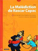 Couverture Les Secrets du temple du Soleil - La Malédiction de Rascar Capac, tome 2