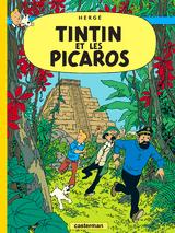 Couverture Tintin et les Picaros - Les Aventures de Tintin, tome 23