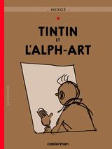 Couverture Tintin et l'Alph-art - Les Aventures de Tintin, tome 24