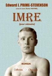 Couverture Imre (pour mémoire)