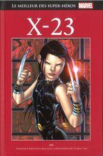 Couverture X-23 - Le Meilleur des super-héros Marvel, tome 118