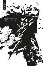 Couverture Batman – Créature de la nuit – édition Noir & Blanc