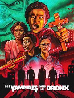 Affiche Des vampires dans le Bronx