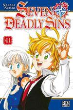 Couverture Seven Deadly Sins, tome 41