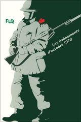 Affiche Les événements d'Octobre 1970