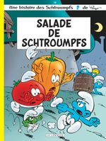 Couverture Salade de schtroumpfs - Les Schtroumpfs, tome 24