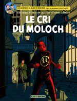 Couverture Le Cri du Moloch - Blake et Mortimer, tome 27