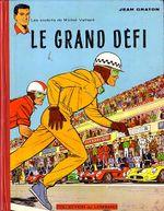 Couverture Le Grand Défi - Michel Vaillant, tome 1