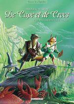 Couverture Le Mystère de l'île étrange - De cape et de crocs, tome 4