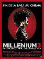 Affiche Millénium 3 : La Reine dans le palais des courants d'air
