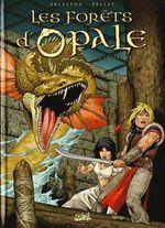 Couverture Les Geôles de Nénuphe - Les Forêts d'Opale, tome 4